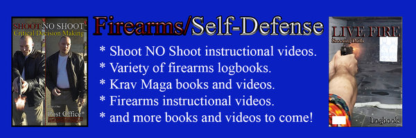 Instructional books and videos on firearms and self-defense.